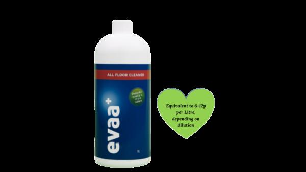 EVAA+ Green Floor CleanerConcentrate