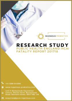Public Health England – HCAI Fatality Report 201718