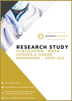 MRSA Horses and Horse Personnel - Research Publication