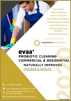 EVAA+ Probiotic Cleaning Products Home & Light Commercial - Brochure