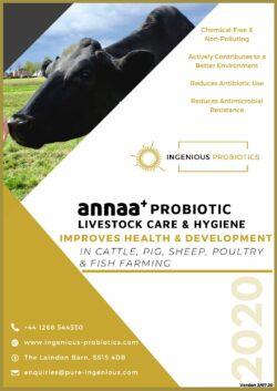 ANNAA+ Probiotic Livestock Care & Hygiene Brochure