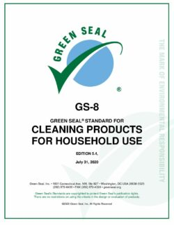 Green Seal Standard for Cleaning Products for Household Use