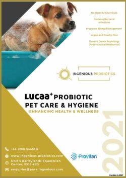 LUCAA+ Pet Probiotic Care & Hygiene Brochure